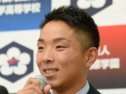 京都国際高の上野内野手は日本ハムの3位指名 ドラフト会議