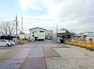 京都市上下水道局が買い戻し、売却する方針を固めた伏見水環境保全センターの隣接地(伏見区横大路)