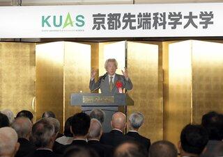 小泉元首相「日本で原発運用は無理」京都で講演、エネルギー政策を批判