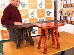 馬脚の机、「この発想はなかった」 栗東トレセン50年、遺跡ヒント