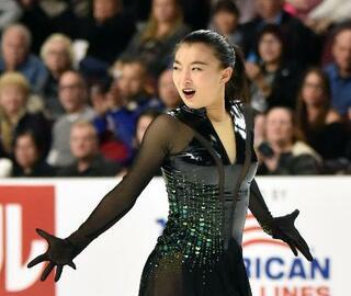 スケートアメリカ、坂本は4位