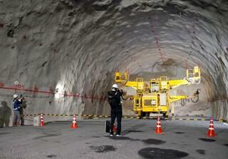 リニア本体トンネルを初公開