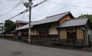 解体前の川井家住宅。専門家は重要文化財級と評価していた(京都市中京区)