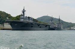 護衛艦「せんだい」の海自隊員、キャバクラ馬乗り逮捕 傷害容疑