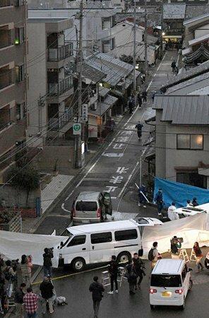 「来たらあかん。刺される」 京都の2人殺傷、住宅街に戦慄