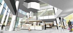 1階カフェ&バー8階シェアキッチン、名称はQuestion 京信河原町ビル、来秋開業