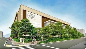 12月6日にリニューアルオープンする「洛北阪急スクエア」のイメージ図