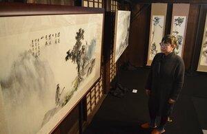 日本と台湾の芸術家の作品が並ぶ展示会(京都市中京区・二条城)
