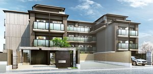 来年3月完成予定の「キャンパスヴィレッジ京都一乗寺」