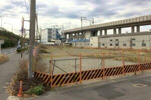 京都市の中央保護所廃止に伴い、向日市との市境に計画されている救護施設建設予定地