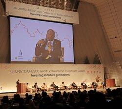 観光公害解決へ「住民に利益を」 国連京都会議が開幕