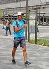 競歩で日本一周、5300キロ歩き魅力PR 元選手が挑戦中