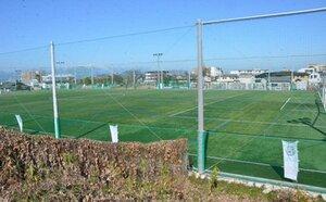 MIOびわこ滋賀のジュニアユースやトップチームが活動拠点としてきた人工芝グラウンド(草津市西大路町)[LF]