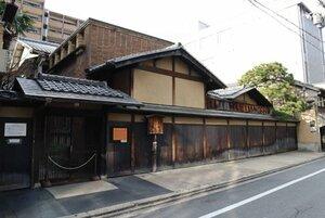 移築の計画が浮上している川崎家住宅。山鉾町の景観にも関わるだけに、地元関係者が懸念をしている(京都市中京区)