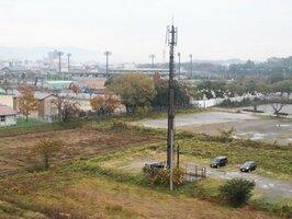 滋賀国体に向けて県が整備する「(仮称)彦根総合運動公園」の買収対象地