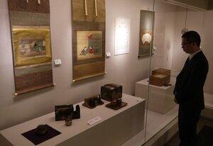 香りに関する資料を展示するために設けた松寿文庫展示室(京都市中京区)