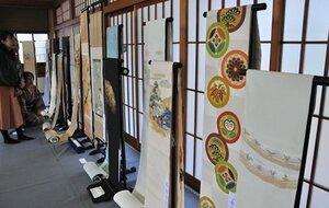 約20年ぶりに開催された京都綴会秀作展(京都市右京区・仁和寺)