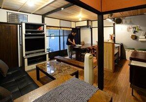 築100年以上の民家をリフォームして営業を始めた民泊(京都市東山区)