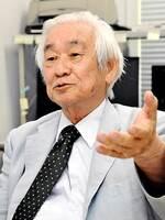 3月末で京都産業大を退職する益川敏英教授