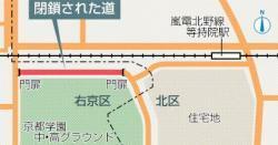 現場の地図