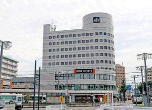 リニューアルオープンした「アパホテルびわ湖瀬田駅前」(大津市大萱1丁目)