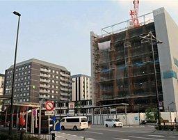ホテルの新規開業が相次ぐ京都駅八条口一帯(京都市南区)