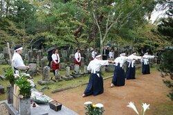 幕末の藩士鎮魂、会津の高校生が京で舞う