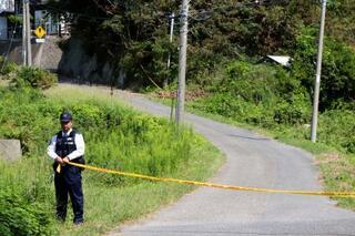 千葉の住宅に女児遺体、殺人か
