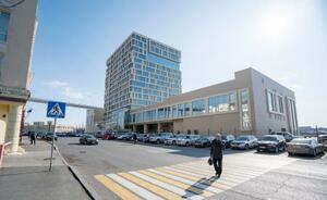 ロシア・ウラジオストクでホテルオークラが参画を計画している開業予定のホテル=7日(共同)