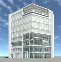 来年6月の開業を予定する京都信用金庫の「コミュニティ・ビルディング河原町(仮称)」のイメージ図