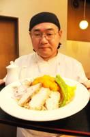 「麺処 楠」が提供しているホットキャロットラペヌードル(向日市寺戸町)