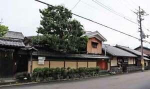 京都市内最古級とされた川井家住宅。市がマッチング制度などを通じて解体を防ごうとしたが実現しなかった(京都市中京区)