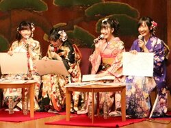 おごと寧々に嵐山紫雨 美少女キャラ温泉むすめ 声優集い京都でイベント